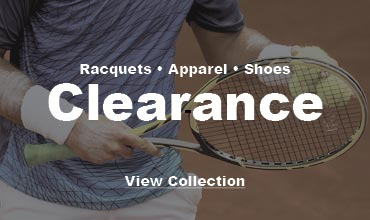 Clearance tennis equipment