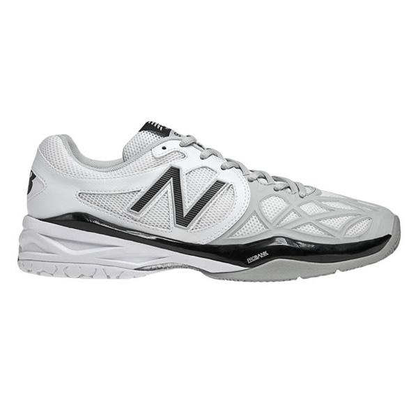 New Balance Men's MC996WS Tennis Shoes White/Silver/Black