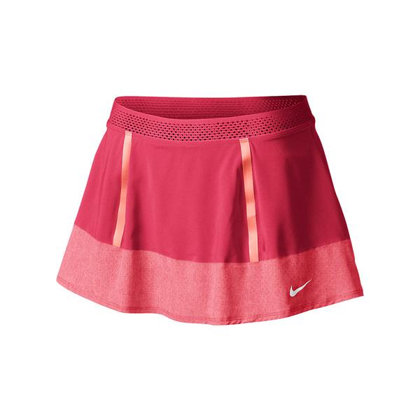 Nike Womens Premier Maria Skirt Fusion RedAtomic Pink ...