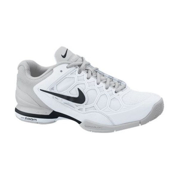 Nike Women s Zoom Breathe 2K11 Tennis Shoes White Black 454126-103 ... 93b02900b3