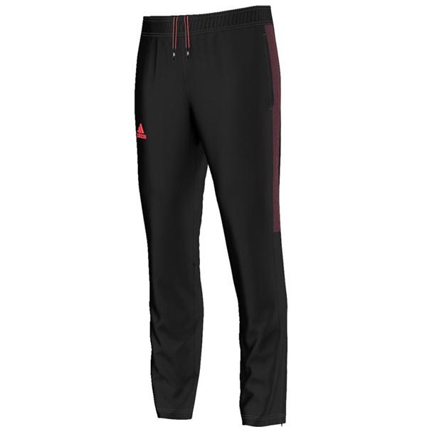 adidas Men's Barricade Pant BlackFlash Red AP4775 The