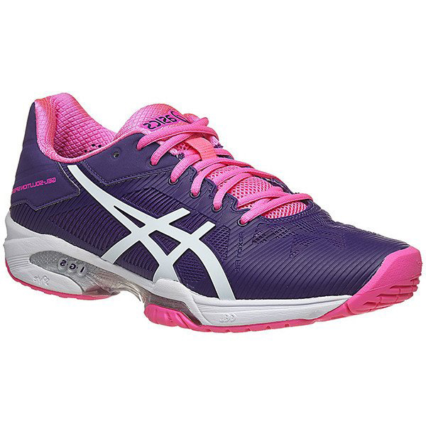 ASICS Women's Gel Solution Speed 3 Shoe Parachute Purple E650N-3301. Sale!  ; 