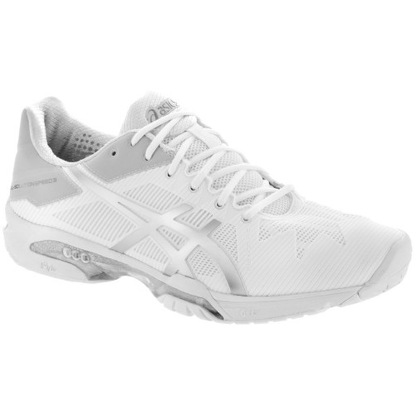 109894fef4 ASICS Gel Solution Speed 3 Women's Tennis Shoe White - The Tennis Shop