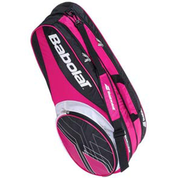 Babolat Club Line 6 Pack Tennis Bag Pink 751065 - The ...