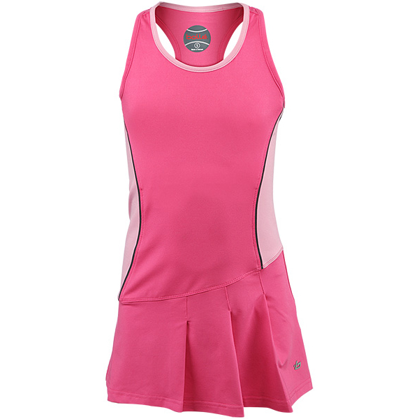 Bolle Girl's Tennis Dress Pink 8110-7452 - The Tennis Shop