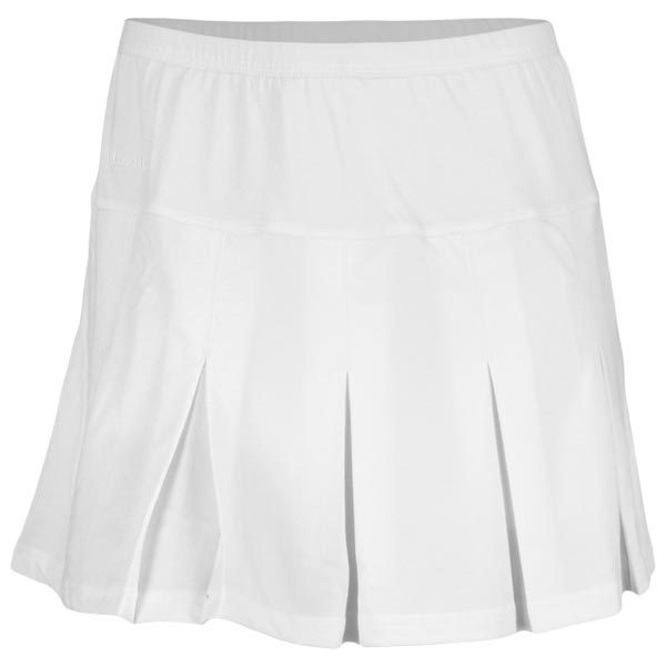 02e3d21eaa Bolle Women's Pleated Tennis Skirt White 8618-0110 - The Tennis Shop