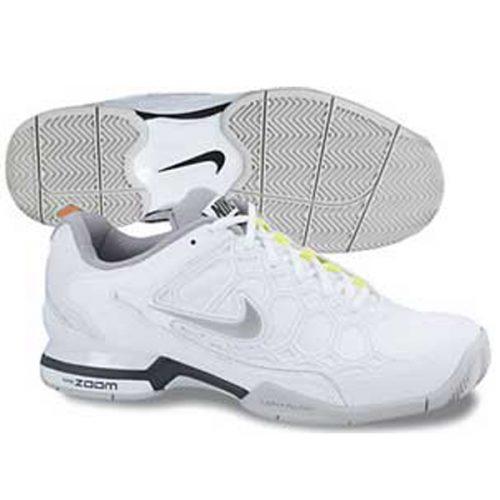 promo code 9272a 862d5 Nike Womens Zoom Breathe 2K12 Tennis Shoe WhiteBlackVolt 518294-100