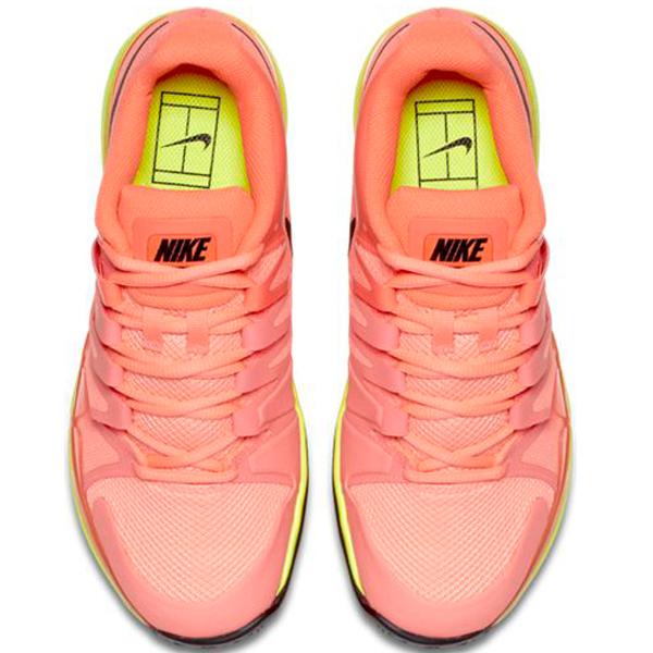 nike zoom vapor 9 5 tour s tennis shoe lava volt