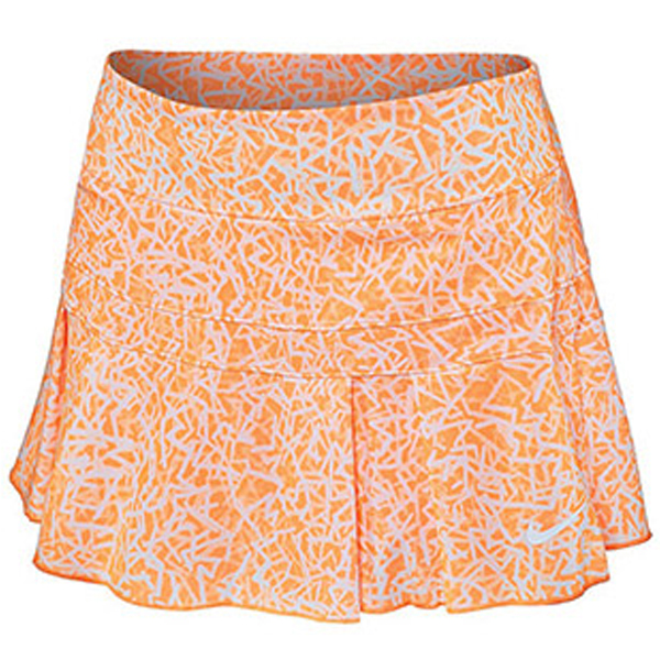 22ddb8ed4a Nike Women's Victory Printed Skirt Citrus 646165-810 - The Tennis Shop