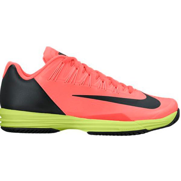 39c91ab4e792 ... Nike Lunar Ballistec 1.5 Mens Tennis Shoe Hyper OrangeBlackVolt 705285- 801. Sale!