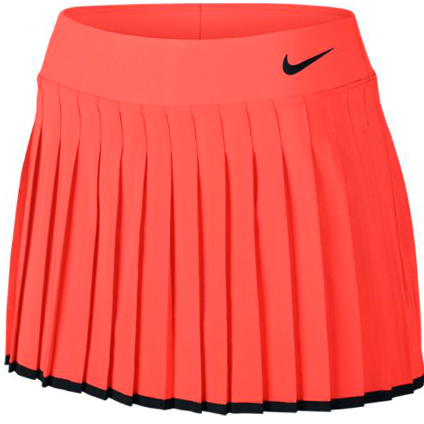 detailed look 7e879 86a0b Nike Women s Victory Skirt Hyper Orange Black 728773-877. Sale!   