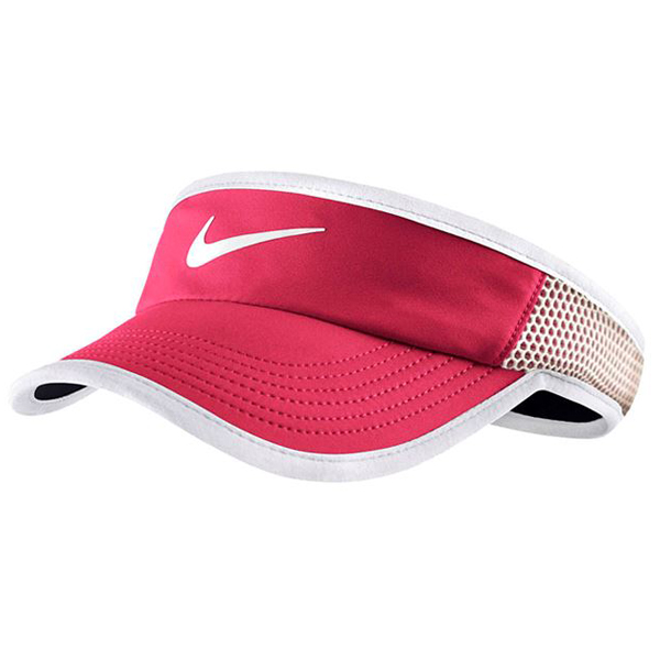 58ed90d6cc8 Nike Women s Featherlight Visor Fuchsia White 744961-668 - The ...