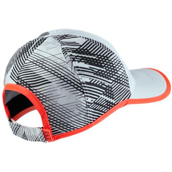 6cac89069c1382 ... cheap nike mens court aerobill tennis hat white black hyper orange  864106 100. 1ca80 8f19f