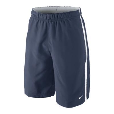 nike navy blue tennis shorts